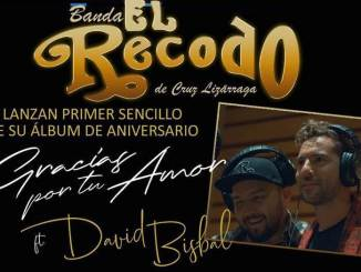 """Banda El Recodo promociona """"Gracias por tu amor"""" Ft David Bisbal"""