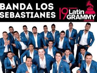 Banda Los Sebastianes nominados al Grammy Latino.