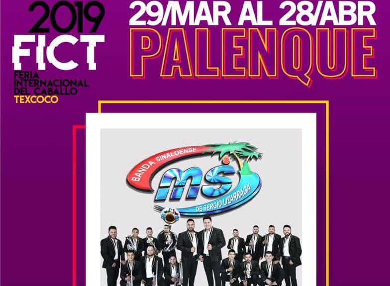 Banda MS llega a la Feria del Caballo de Texcoco este 20 y 21 de abril 2019. No te los pierdas.