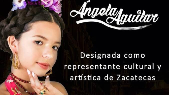 """#TubandaNews: Ángela Aguilar es nombrada """"Representante Cultural y Artística de Zacatecas"""""""