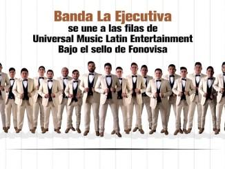 "Banda La Ejecutiva estrena sencillo ""Dile"" y contrato con Universal Music Latin Entertainment bajo el sello Fonovisa."