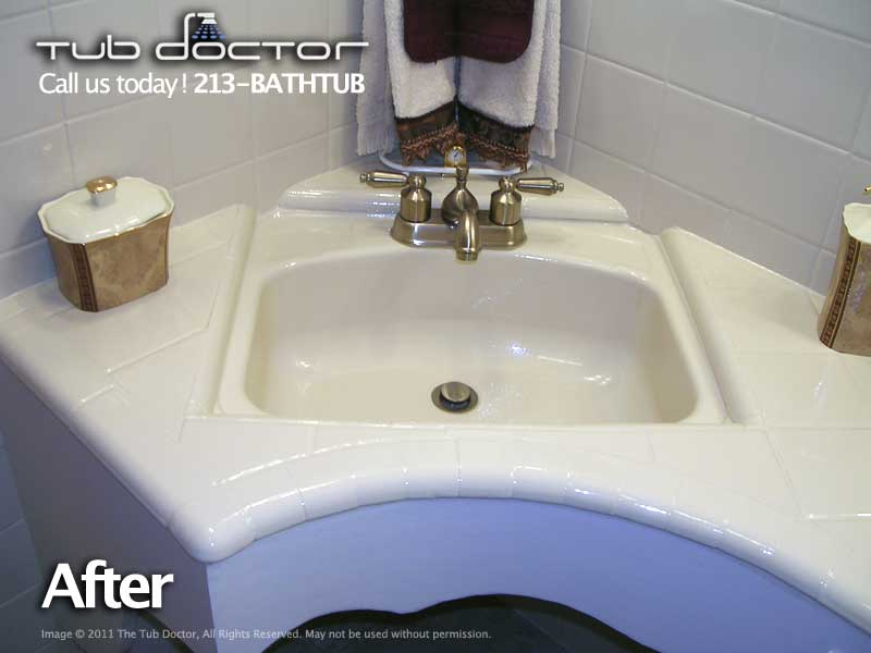 Vanity Tub Reglazing Bathtub Refinishing Tub