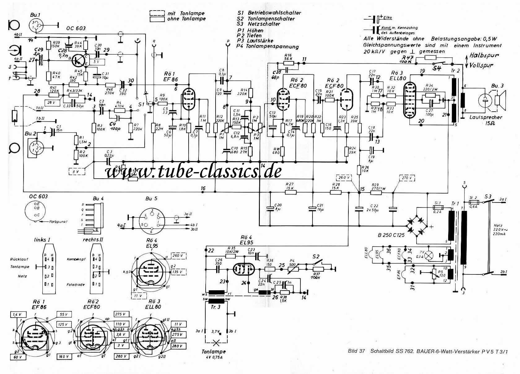 Tc Eugen Bauer 16mm Tube Amps