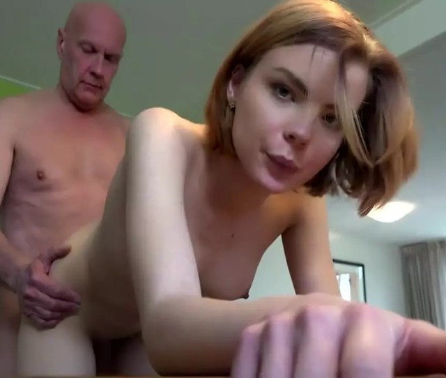 Young Babe Gets Fucked Hard By Old Man