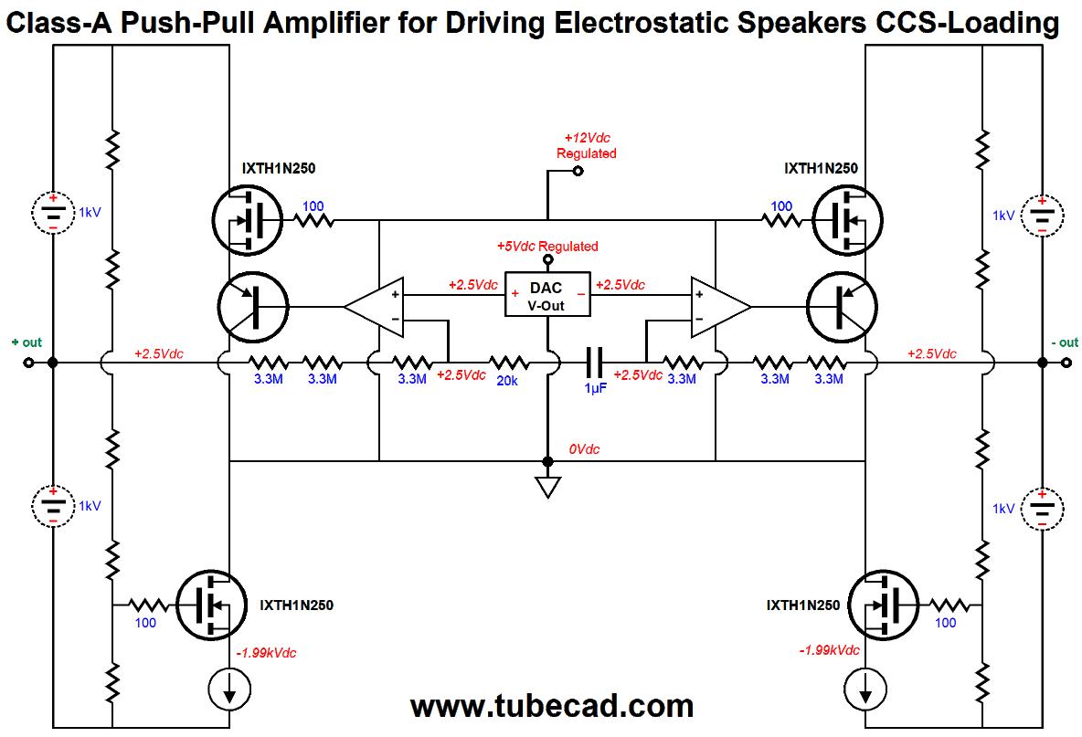 Digital Electrostatic Loudspeakers Amp More Direct Drive