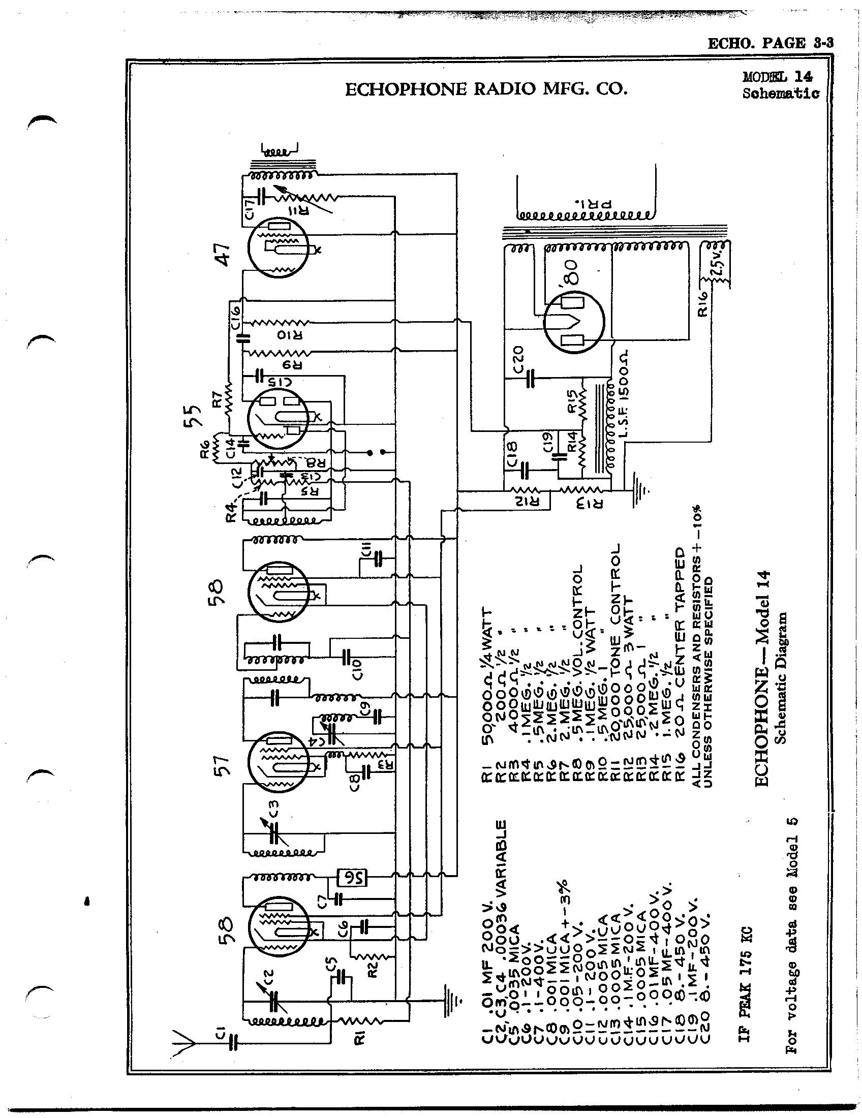 Echophone Radio Corp 14