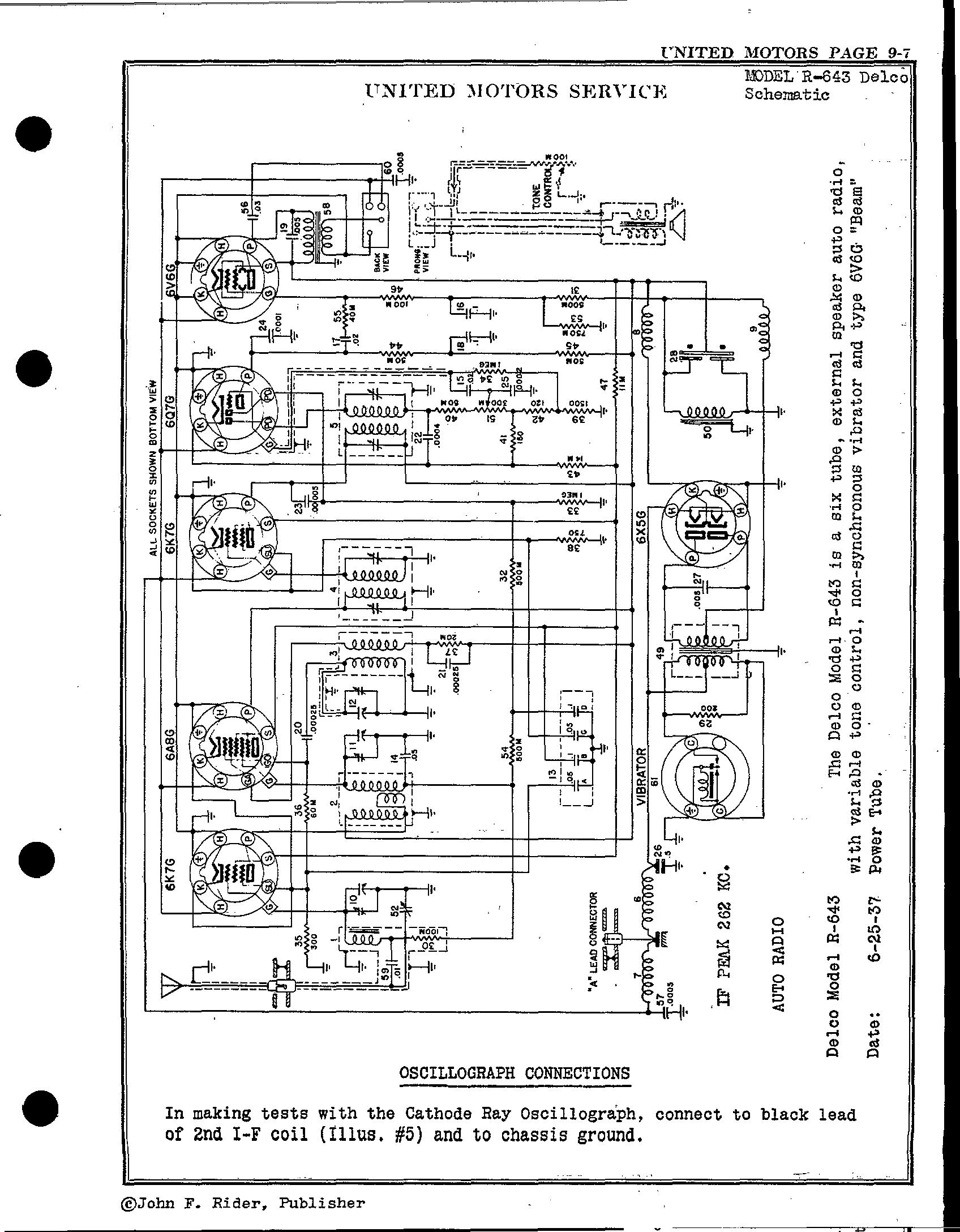 Delco Radio Schematics