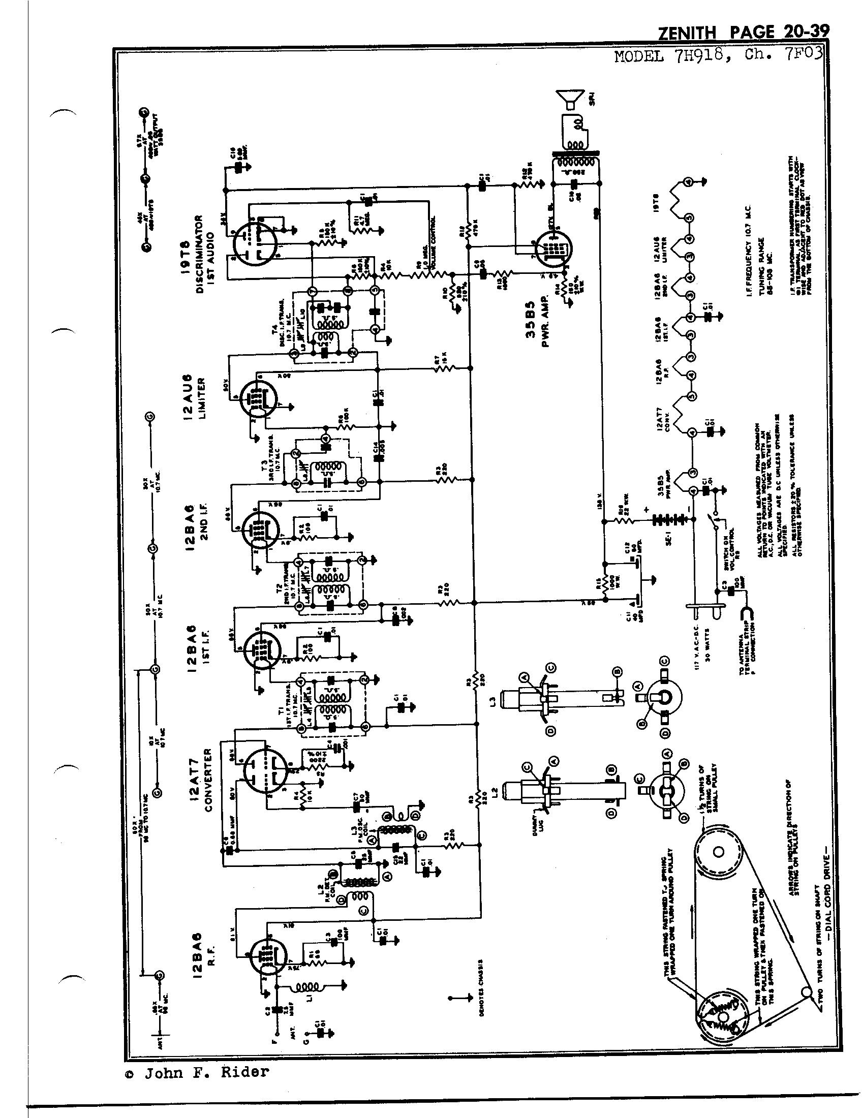 Zenith Radio Corp 7h918