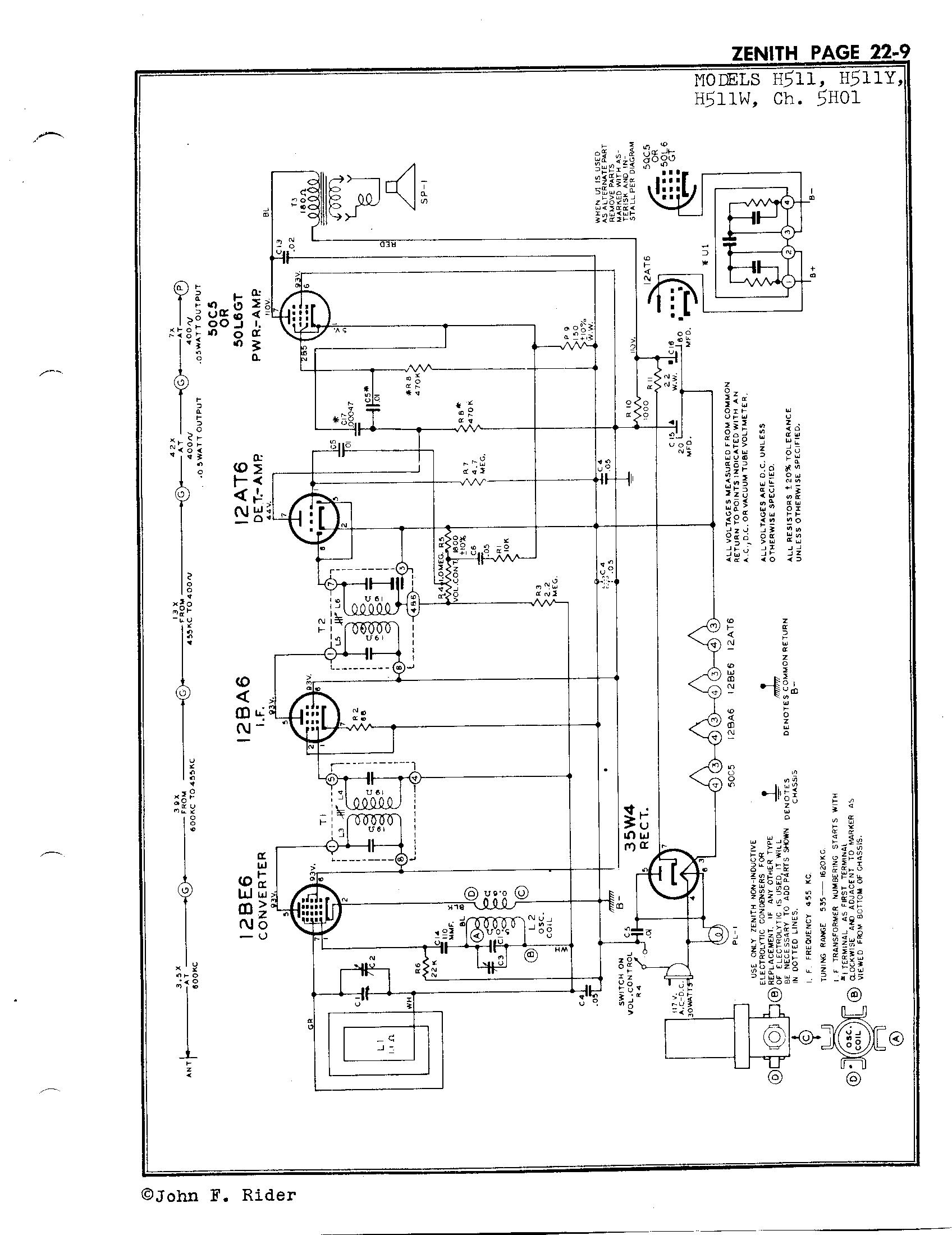 Zenith Radio Corp H511w