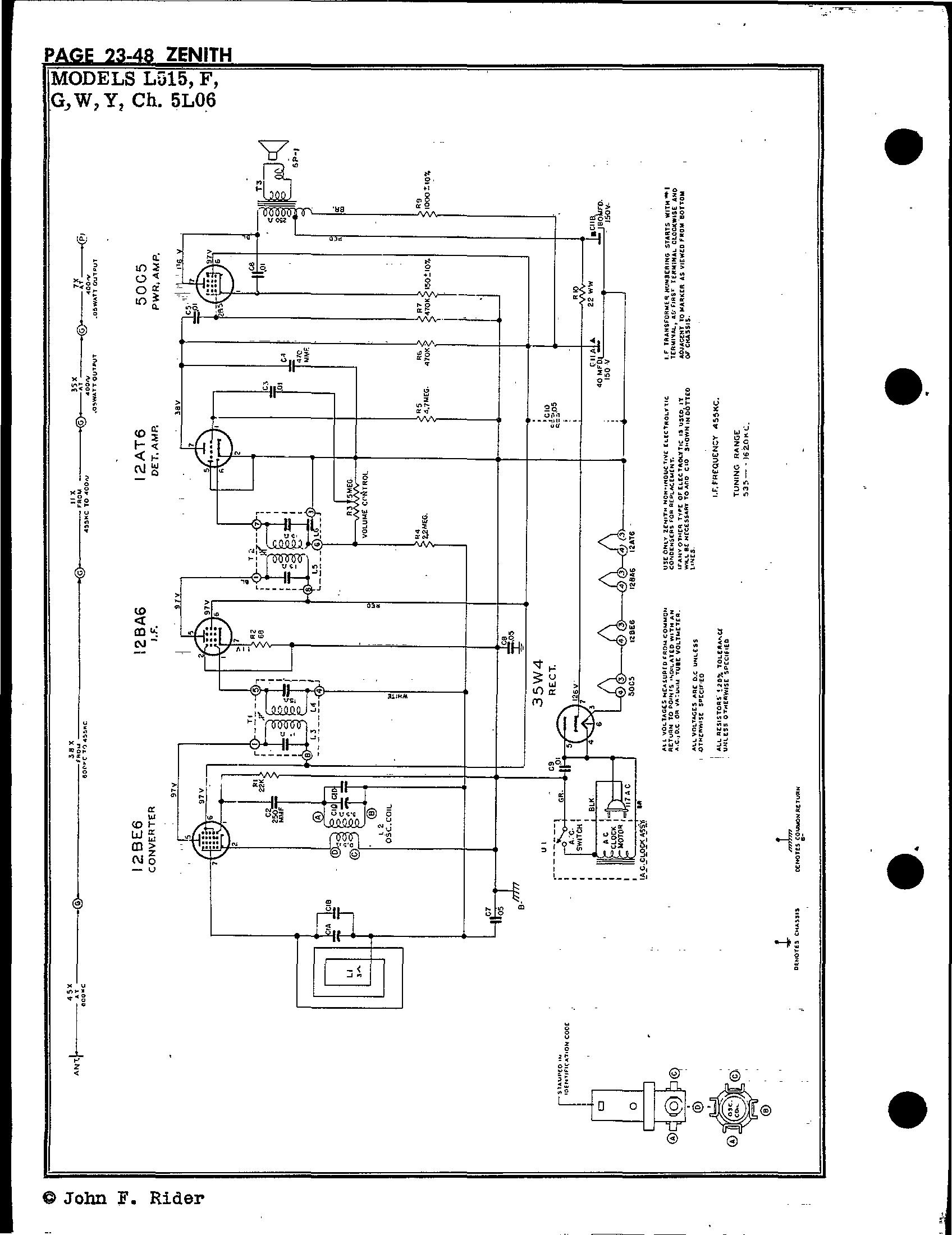 Zenith Radio Corp L515
