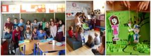 Une classe conteuse à l'école Saint Joseph de Tubize