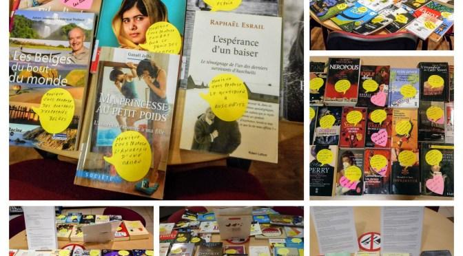 Conseils de lecture – le choix des bibliothécaires