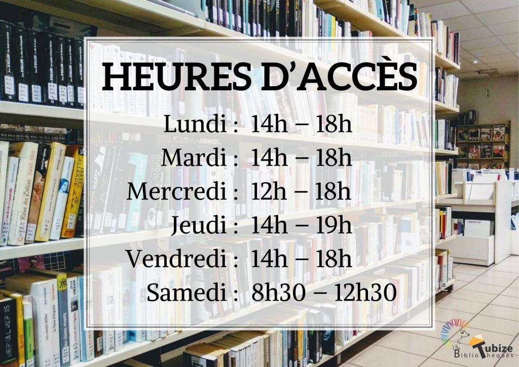 Retour à l'horaire normal de vos bibliothèques
