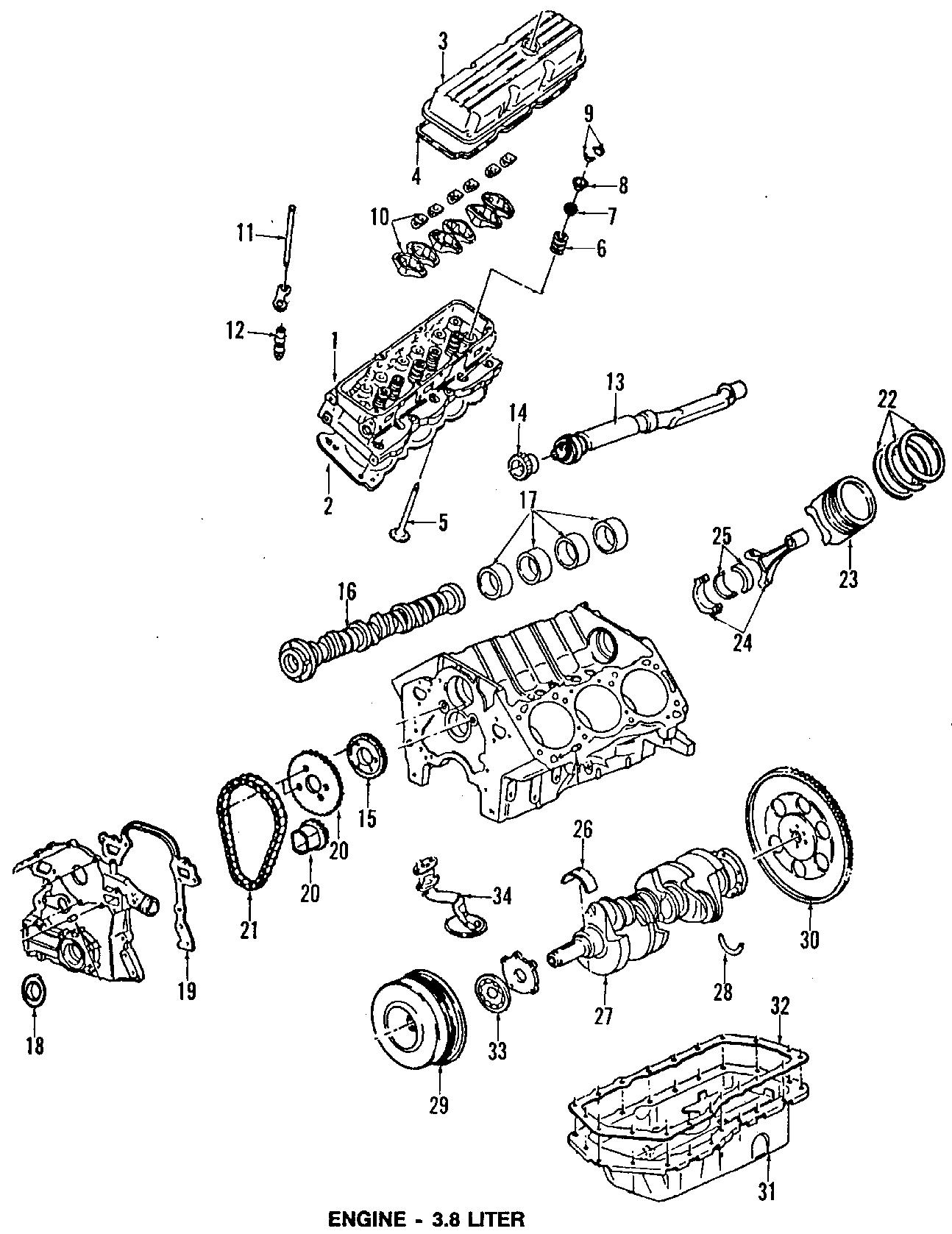 Pontiac Bonneville Mount Transmission Strut Rear