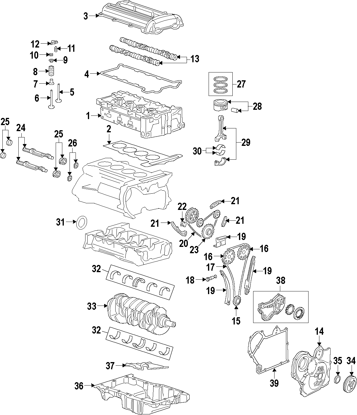 Chevrolet Hhr Engine Oil Pan