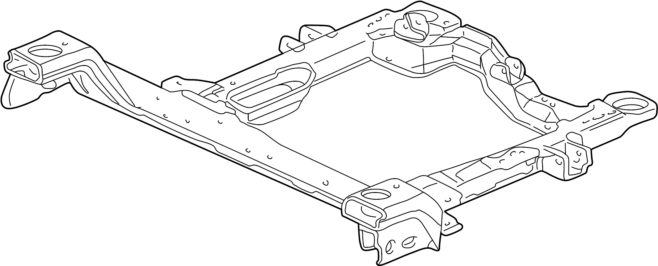 Buick Century Engine Cradle Front Suspension