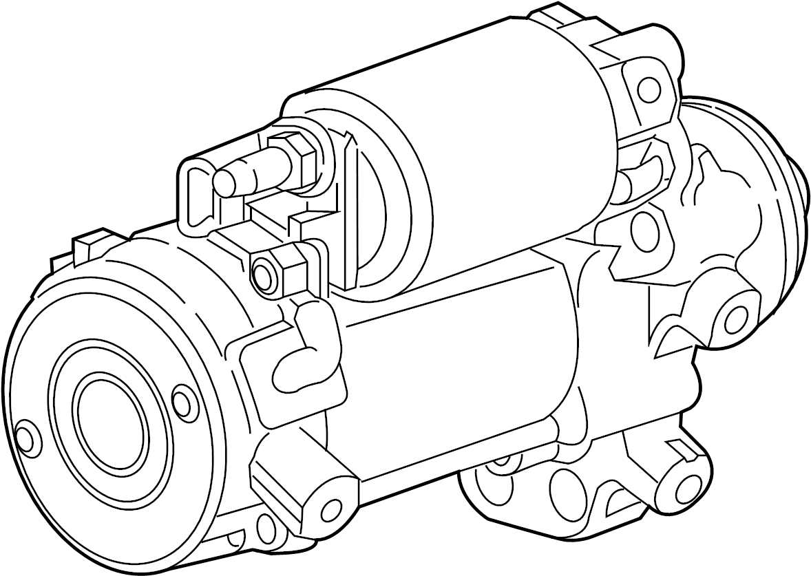Cadillac Cts Starter Motor