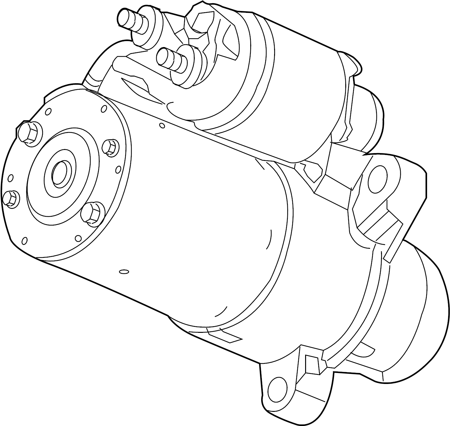 Chevrolet Colorado Starter Motor Liter General