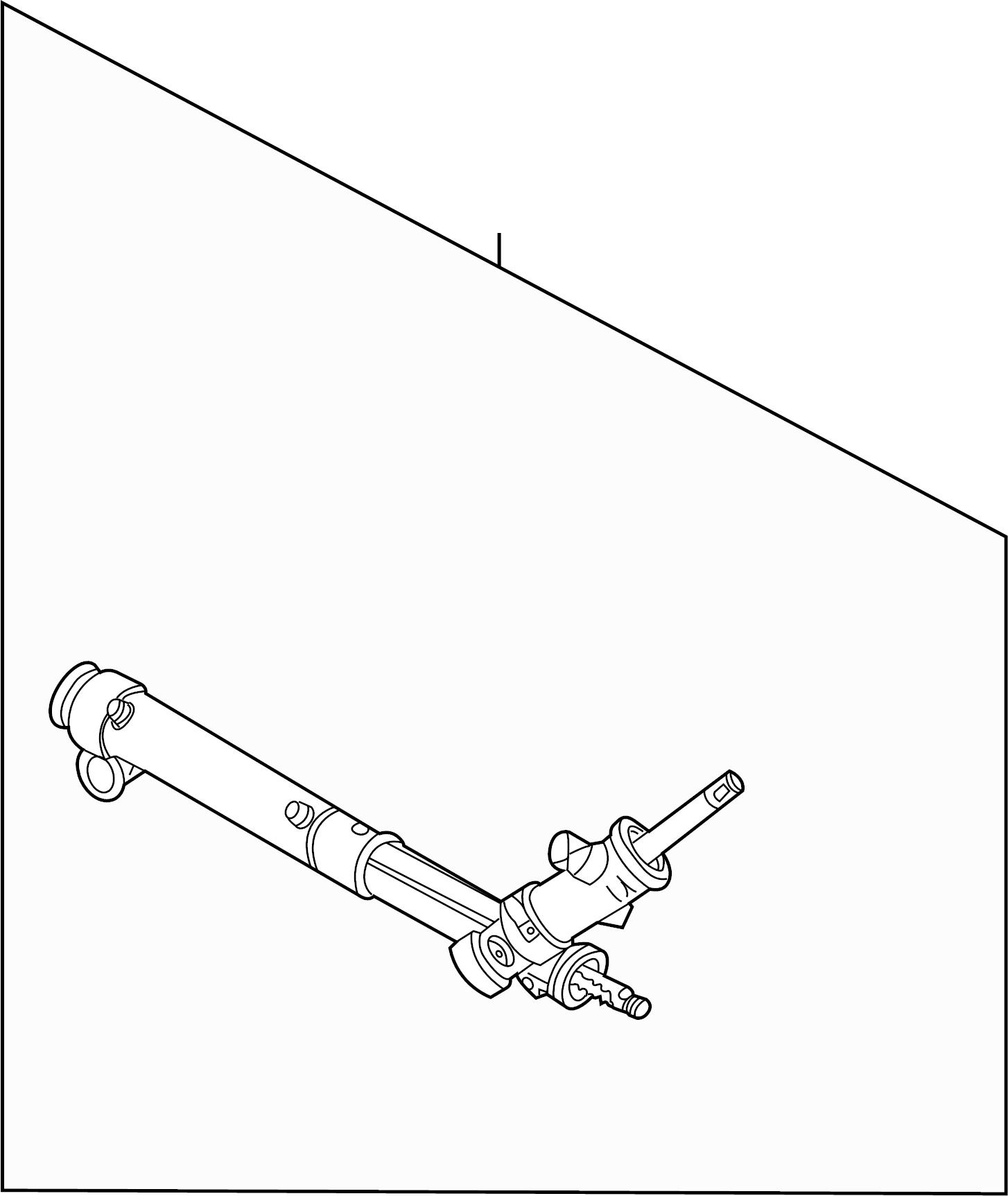 Pontiac Montana Rack And Pinion Assembly Cooler Gear