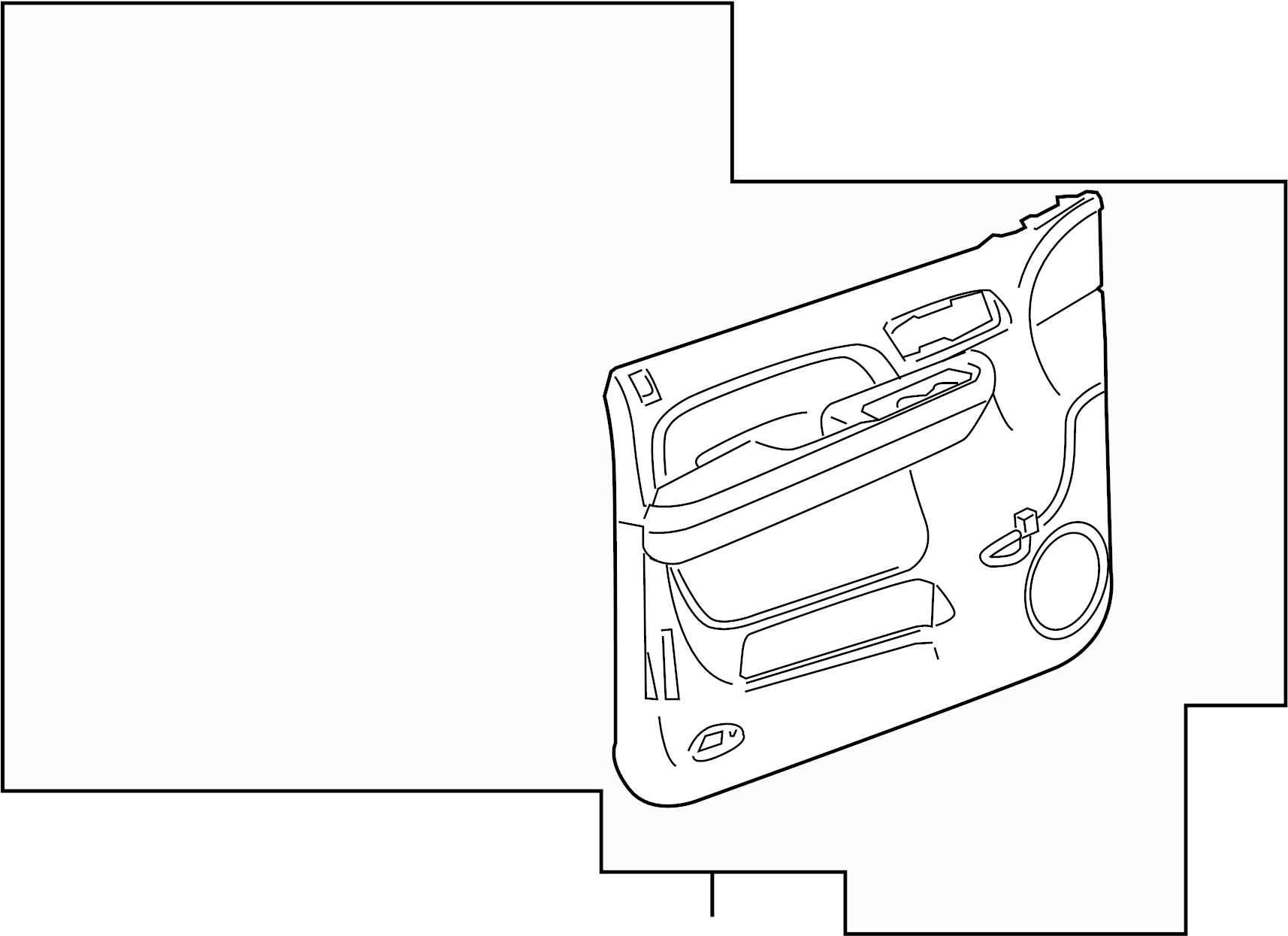 Gmc Sierra Panel Door Trim Titanium Seats