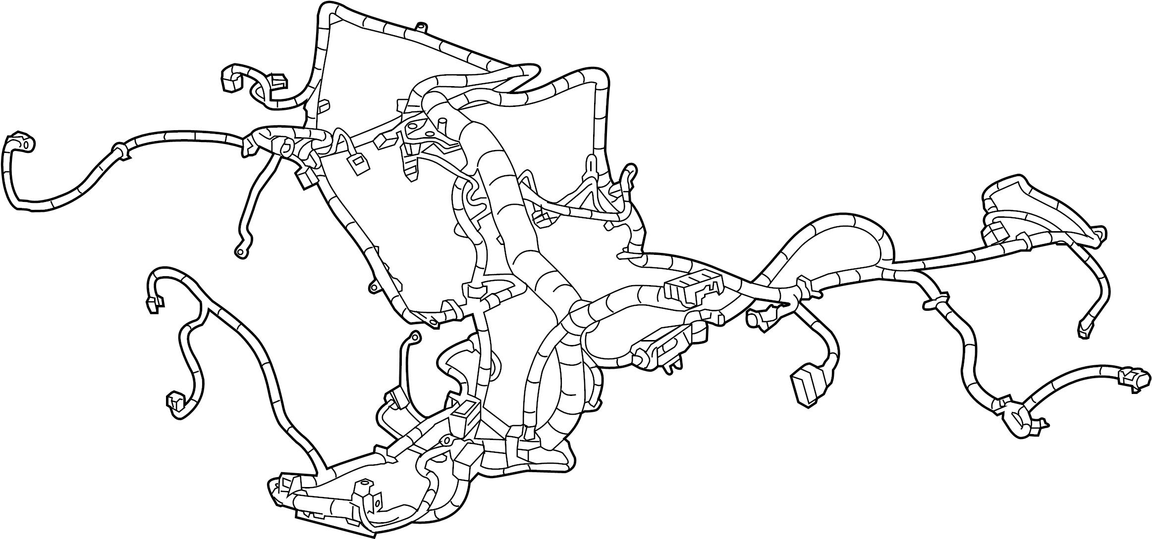 Chevrolet Silverado Hd Engine Wiring Harness 6 0
