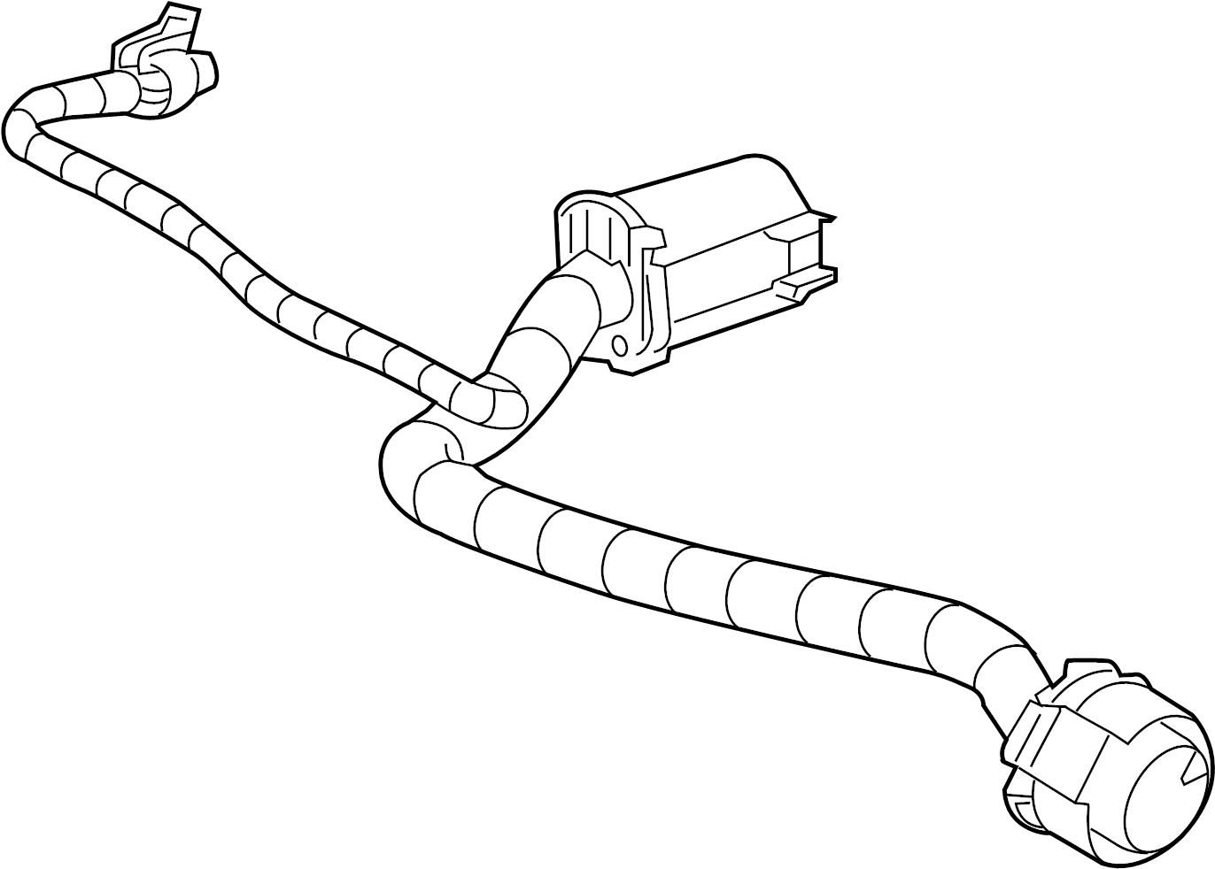Gmc Sierra Hd Parking Aid System Speaker Connector