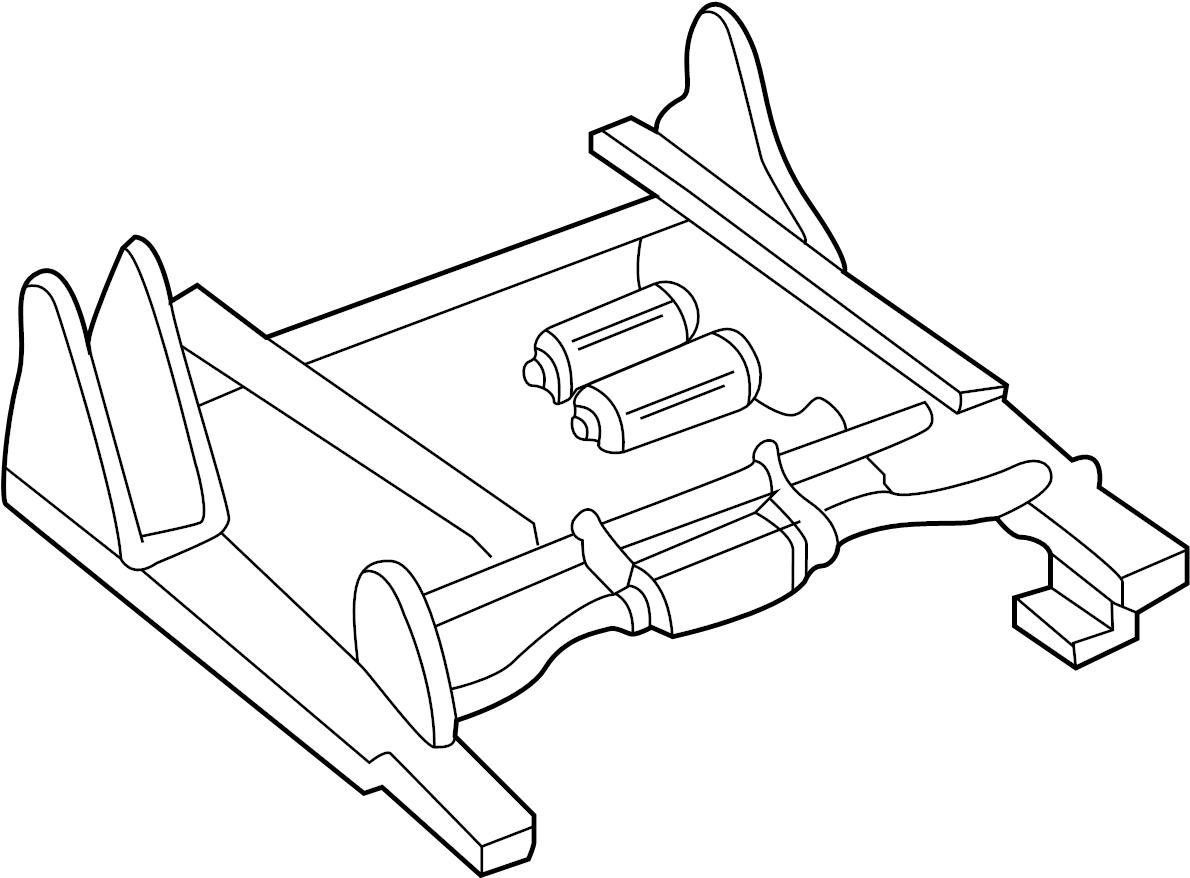 Gmc Seat Track Passenger Bench Side