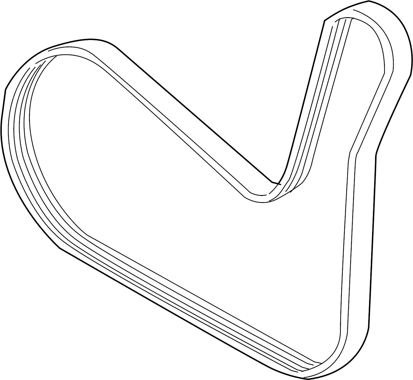 Chevrolet Serpentine Belt