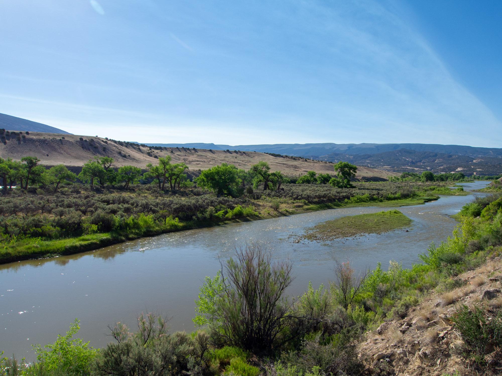 Dinosaur National Monument - Green River