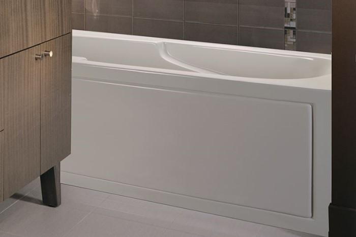 MTI Basics MBIS6030 Soaking Heated Whirlpool Amp Air Bathtub