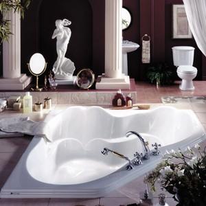 Corner Bathtub Soaking Whirlpool Amp Air Tub