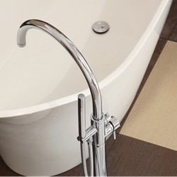 Freestanding Tub Faucet Floor Mount Tub Filler