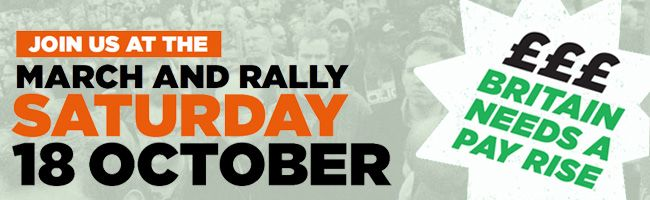 18 October - March and Rally