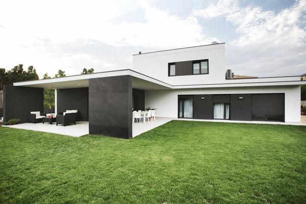Acogedoras casas prefabricadas de dise o contemporaneo - Casas prefabricadas barcelona ...
