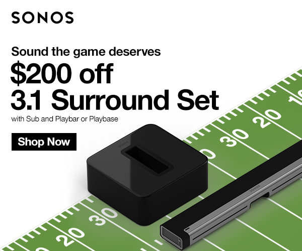 Sonos Sale Now Through February 3rd
