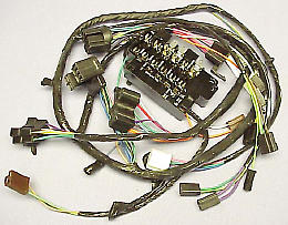 1963 Dash Wire Harness  GM Truck With Warning Lights