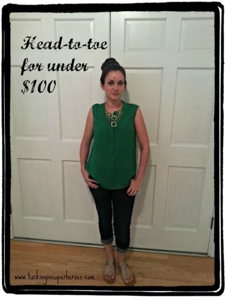 head to toe under $100 tuckinginsuperheroes.com