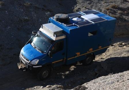 Solar Panels - eco-friendly living in a camper van