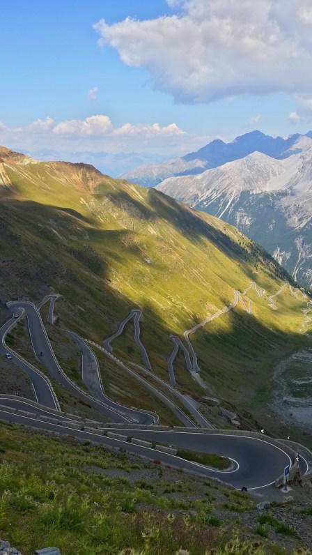 italian alps roads