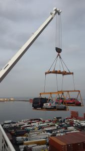 Car craning 'Dakar style' - What could possibly go wrong??