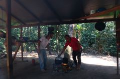 Jungle cooking Bolivia