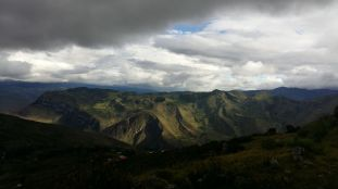 view from kuelap