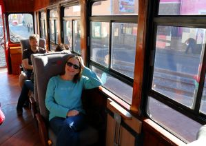 on the train ecuador