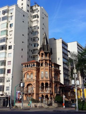 Rio de Janeiro old buildings