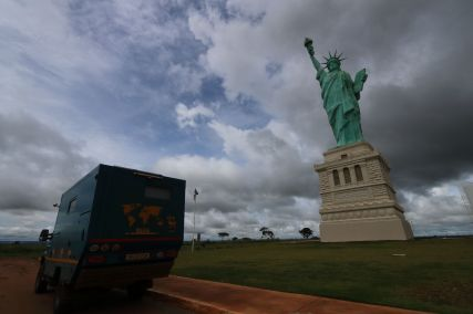 Statue of Liberty in Brazil!