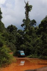 Amazon overland