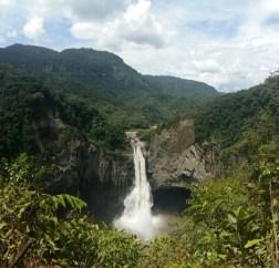 cascada san rafael ecuador