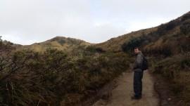 Hiking to Laguna Verde