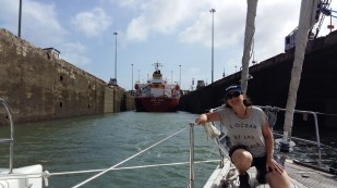 in the panama canal