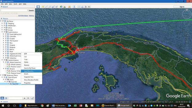 Convert Garmin Tracks into Google Maps - Tucks' Travels in a